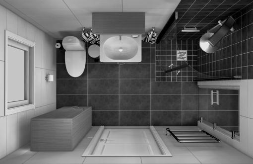 Bild för tjänsten Badrum i 3D